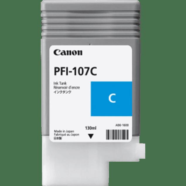 Tanque de tinta PFI-107C Cyan