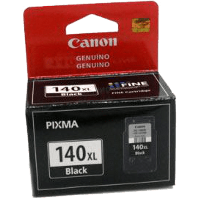 Tinta color negro para PG-140XL compatible con modelos: PIXMA MG2110, PIXMA MG3110