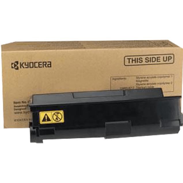 Tóner color negro para impresora FS-137DN