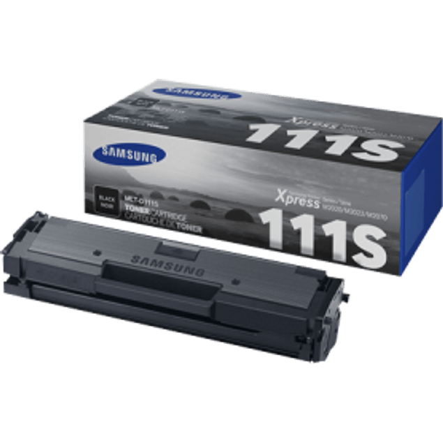 Tóner color negro MLT-D111S para impresora M2022, 2022W, M2070