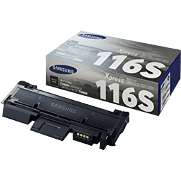 Tóner color negro, modelo MLT-D116S capacidad standard.