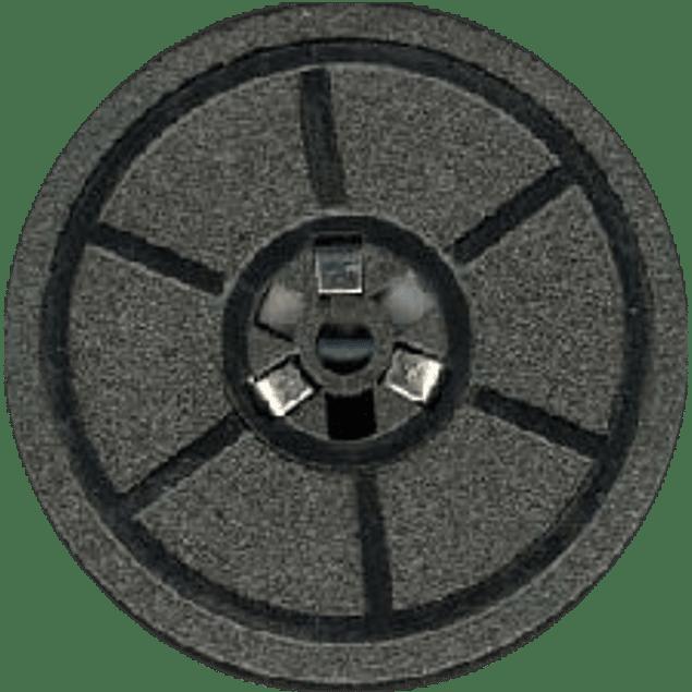 Cinta modelo 240 para máquina type writer negro-rojo