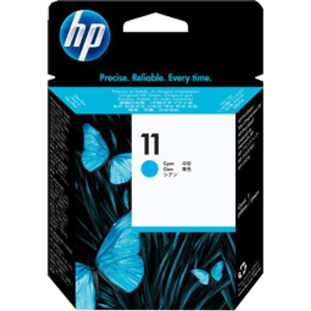 Cabezal de tinta color Cyan No. 11, series business inkjet 2200; 2600, CP1700