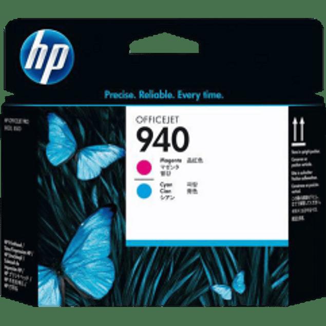 Tinta cabezal HP940 color Magenta y Cyan