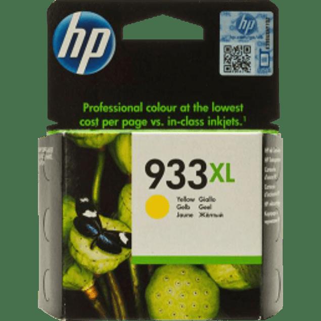Cartucho de tinta color amarillo para Office jet HP 933XL