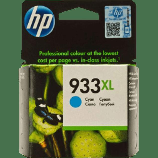 Cartucho de tinta color Cyan para OfficeJet HP 933xl