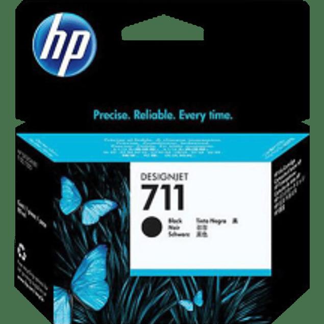 Cartucho de tinta HP 711 color negro para designjet T120 y T520