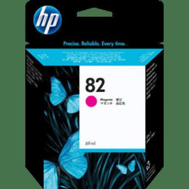 Cartucho de tinta color magenta No.82 HP Designjet series 500, 800