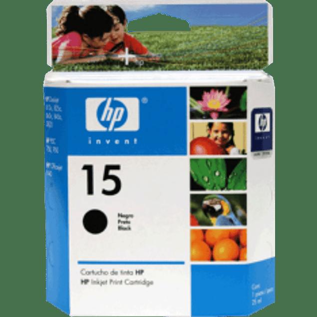 Cartucho de tinta color negro Deskjet HP para modelos 810, 812, 840, 920