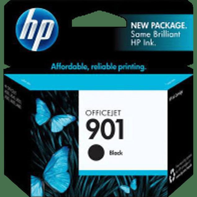 Cartucho de tinta color negro HP901. rendimiento 200 página
