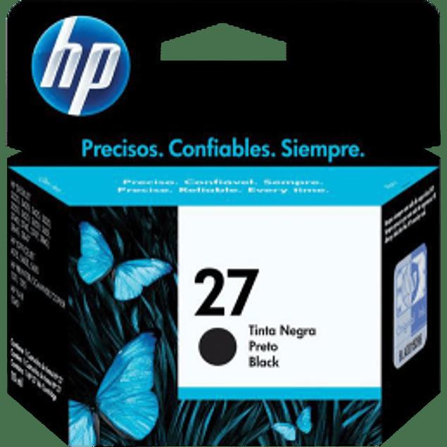 Cartucho de tinta color negro No. 27. HP Deskjet 3420