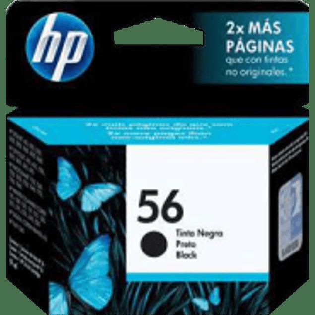Cartucho de tinta color negro No.56 DJ5550, 450, PSC7350, 7150, 7550, 2110