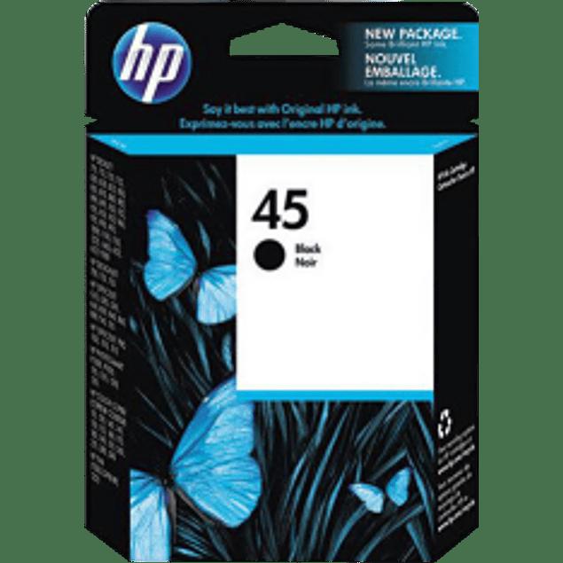 Cartucho tinta color negro para series 930/ hp 820, 850, 870, 1600C, 890, 750C, 720, 1150C