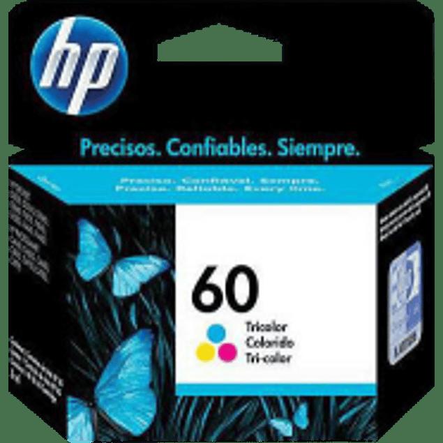 Cartucho de tinta color tricolor HP 60.
