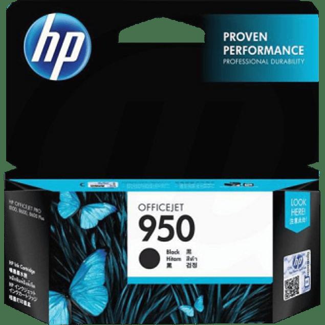 Cartucho de tinta color Negro HP 950.