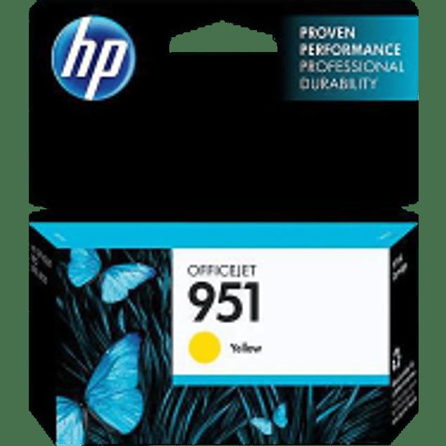 Cartucho de tinta color Amarillo HP 951.