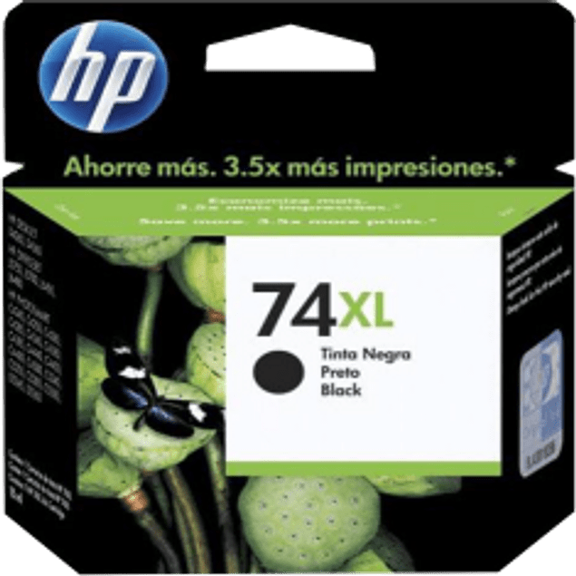 Cartucho de tinta color Negro HP 74XL