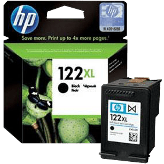 Cartucho de tinta color Negro HP 122XL