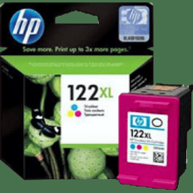 Cartucho de tinta Tricolor HP 122XL.