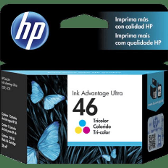 Cartucho de tinta Tricolor HP 46 ink cartridge