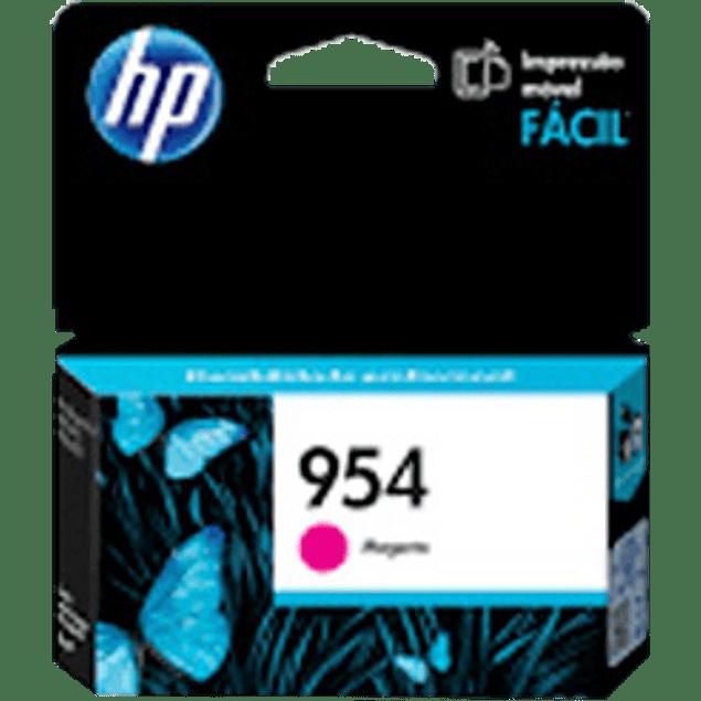 Cartucho de tinta color Magenta HP 954estándar, rendimiento 700 páginas