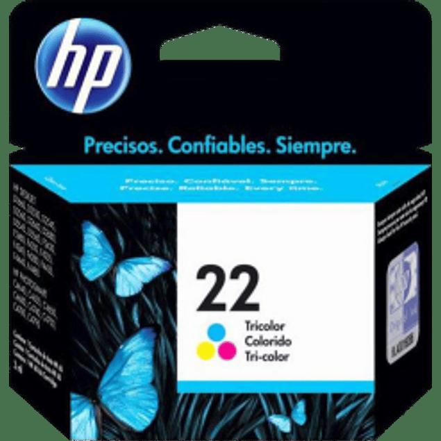 Cartucho de tinta Tricolor HP 22.