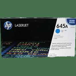 Tóner color Cyan HP 645A