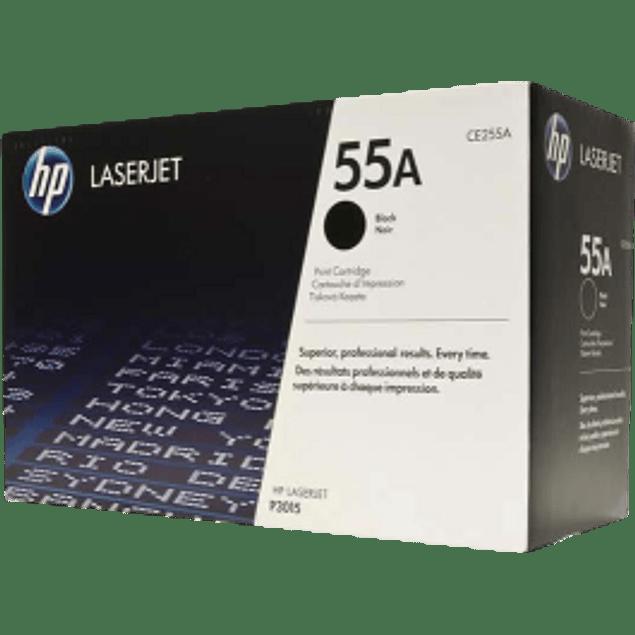 Tóner de tinta color Negro HP CE255A