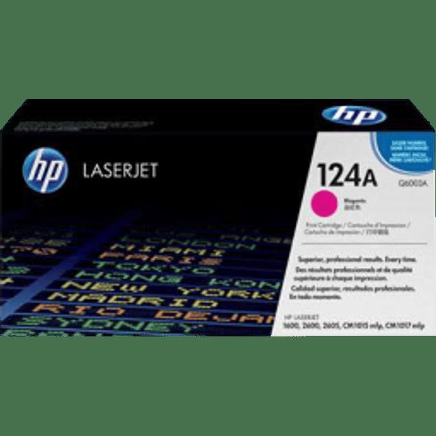 Tóner de tinta color Magenta HP Q6003A