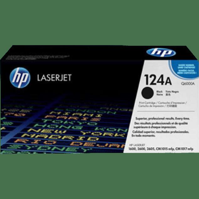 Tóner de tinta color Negro HP Q6000A