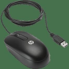 Mouse Óptico color negro HP conexión USB