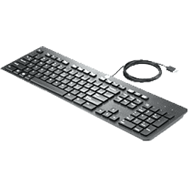 Teclado HP USB Slim Business