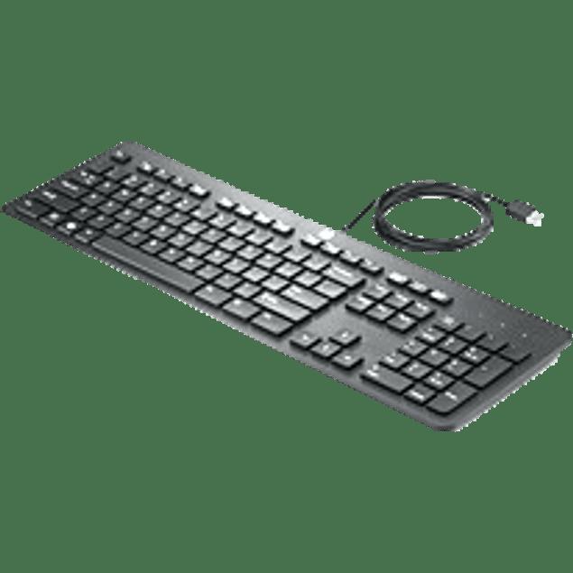 Teclado HP USB Slim Business