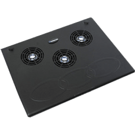 Base para Laptop con sistema de enfriamiento de ventilador.