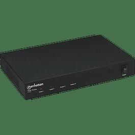 Manhattan Vídeo splitter HDMI 1080P 4 puntos divisor duplicador de señal.