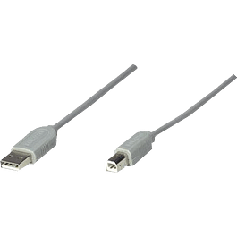 Cable USB A-/B 3 metros.
