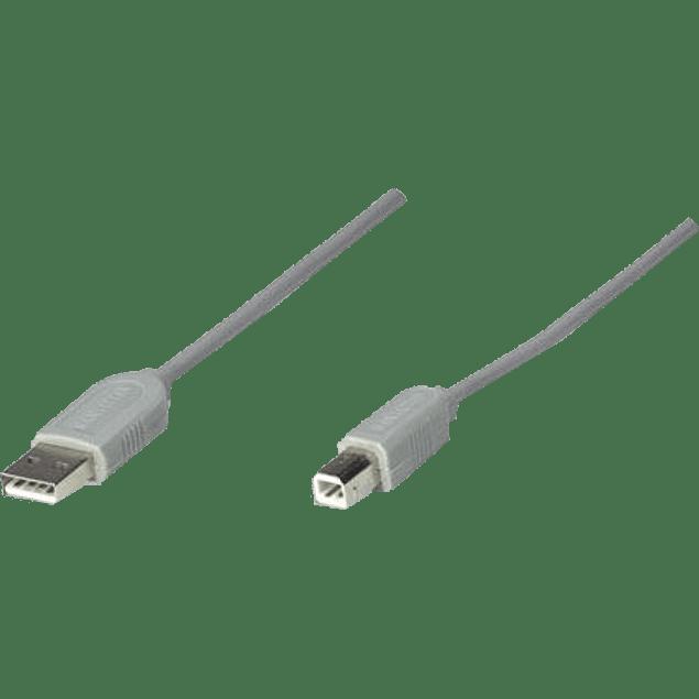 Cable USB A-/B 3 metros.