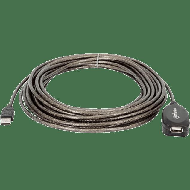 Cable USB V2.0 extensión activa 10.0 metros