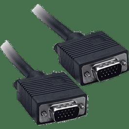 Cable para monitor SVGA HD15 macho a macho, de 1.8 metros
