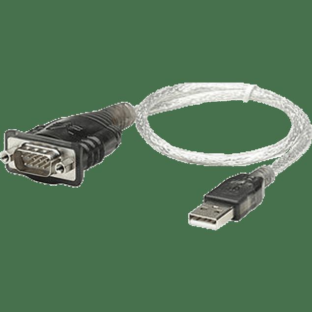 Convertidor USB a serial DB9M de 45 cm