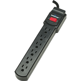 Barra multicontacto 6 contactos
