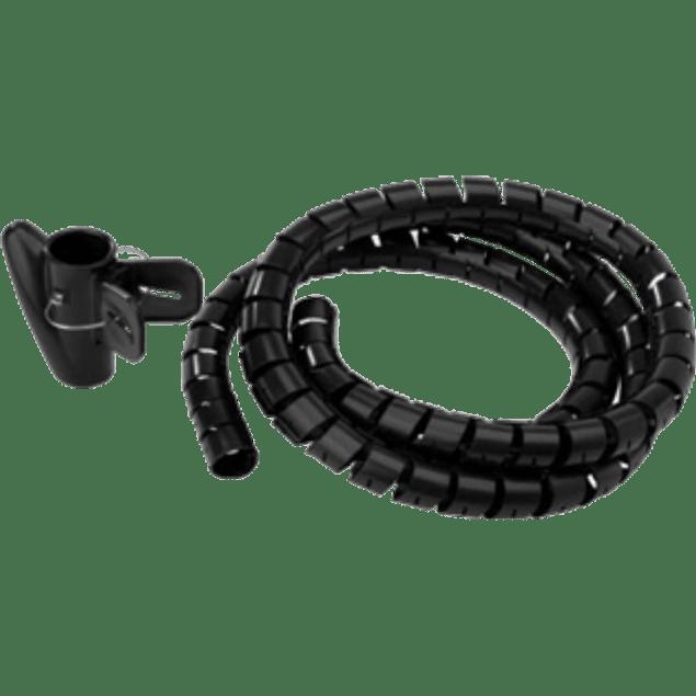 Juego organizador de cables, color negro o blanco.