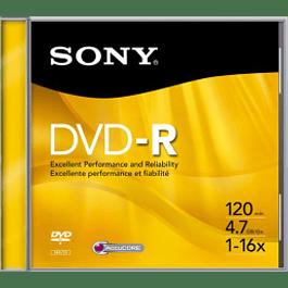 Disco compacto DVD-R 4.7 gb  DMR 47l3 - l4