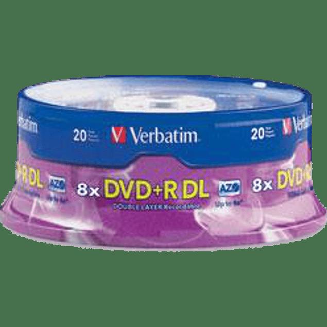 DVD+RM Double Layer 20PK, de 8.5 gb