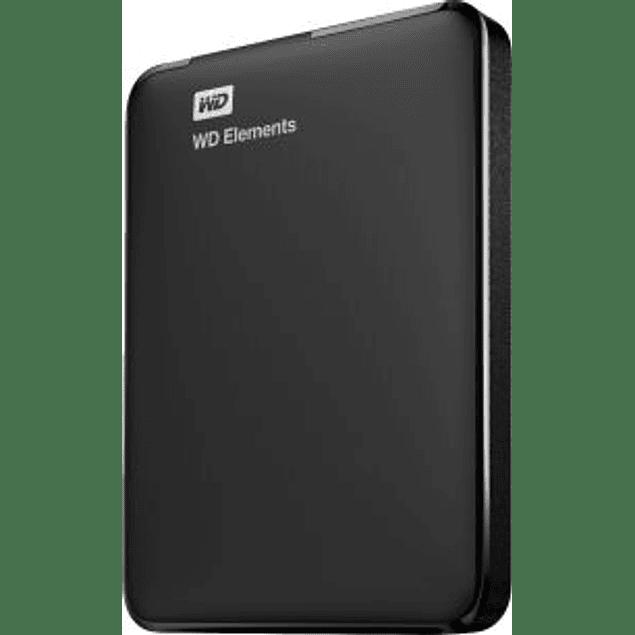 Disco Duro externo elements portátil 2.5'', 1TB, USB 3.0, color negro