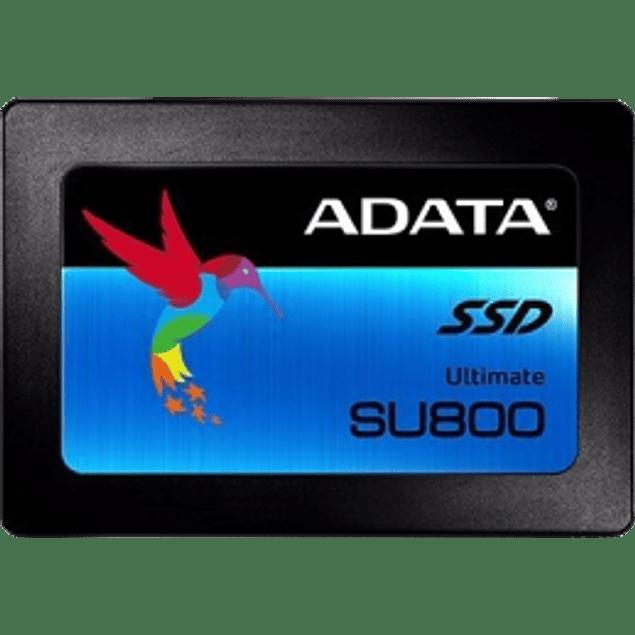 Unidad de estado sólido SSD ADATA SU800 512GB, 2.5 SATA 3, SATA 2.7 mm