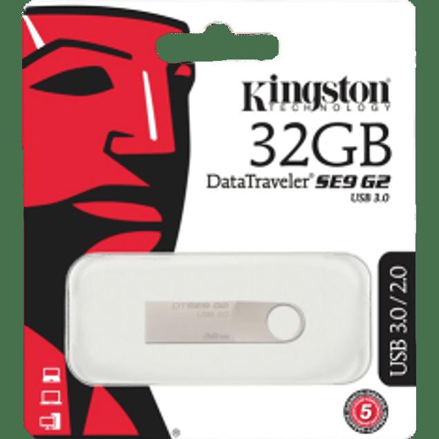 Memoria USB 3.0 metálica 32 GB