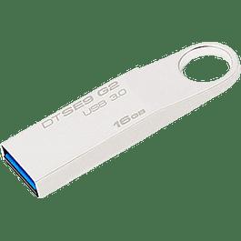 Memoria USB 3.0, metálica de 16 GB