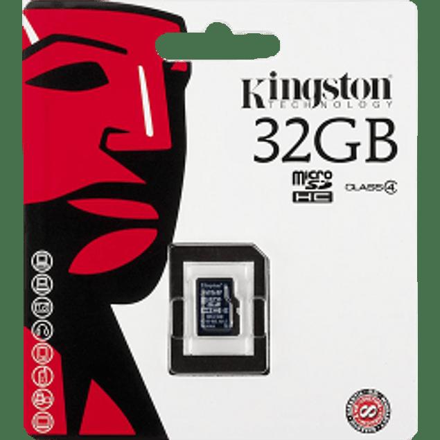 Memoria Micro SD de 32GB clase 4.