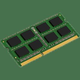 Memoria RAM DDR3, 1600 MHz, de 4 GB, SODIMM